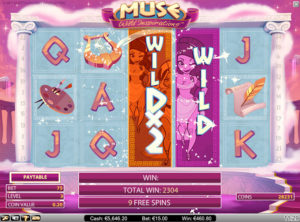 Muse Wild Inspiration slotmaskinen SS-02