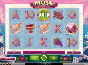 Muse Wild Inspiration slotmaskinen SS-05
