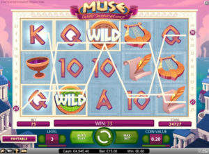 Muse Wild Inspiration slotmaskinen SS-07