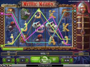 Mythic Maiden slotmaskinen SS-02