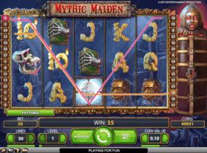 Mythic Maiden slotmaskinen SS-03
