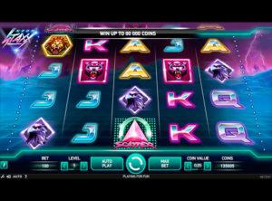 Neon Staxx slotmaskinen SS-01