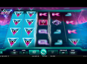 Neon Staxx slotmaskinen SS-04