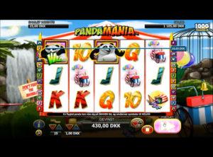 Pandamania slotmaskinen SS-06