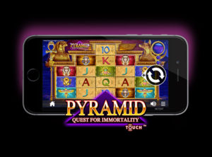 Pyramid: Quest for Immortality slotmaskinen SS-05