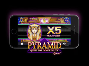 Pyramid: Quest for Immortality slotmaskinen SS-06
