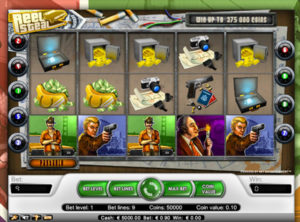 Reel Steal slotmaskinen SS-02