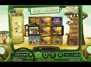 Safari Spilleautomaten SS 4