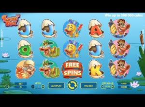 Scruffy Duck slotmaskinen SS-01