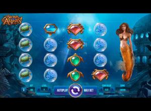 Secrets of Atlantis slotmaskinen SS-01
