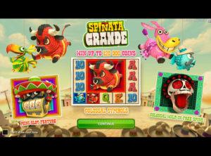 Spinata Grande slotmaskinen SS 4