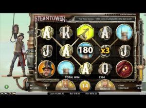 Steam Tower slotmaskinen SS 2