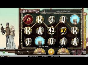 Steam Tower slotmaskinen SS 5