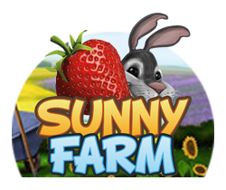 Sunny Farm spilleautomat - logo