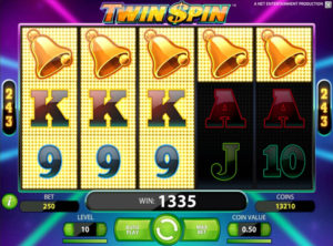 Twin Spin slotmaskinen SS 4