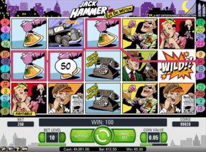 Jack Hammer slotmaskinen SS 2