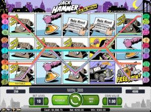 Jack Hammer slotmaskinen SS 3