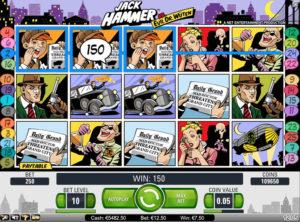 Jack Hammer slotmaskinen SS 4