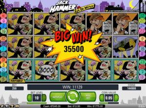 Jack Hammer slotmaskinen SS 5
