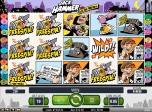 Jack Hammer slotmaskinen SS 7