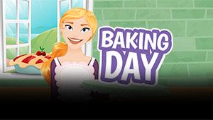 Her kan du spille Baking Day spilleautomaten