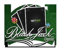 Klassisk Blackjack - fra NetEnt