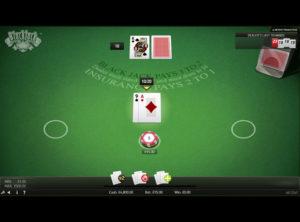 Blackjack Online spil - SS 2