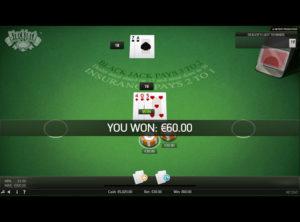 Blackjack Online spil - SS 4
