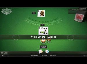 Blackjack Online spil - SS 9