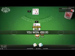 Blackjack Online spil - SS 6