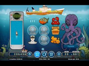 Deep Blue Spilleautomat SS 4