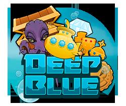 Deep Blue Spilleautomaten - logo