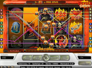Devil's Delight slotmaskinen SS-05