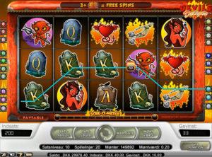 Devil's Delight slotmaskinen SS-06