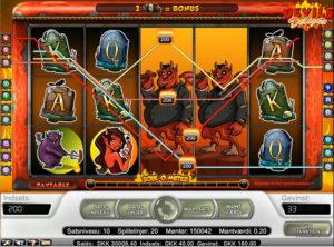 Devil's Delight slotmaskinen SS-07