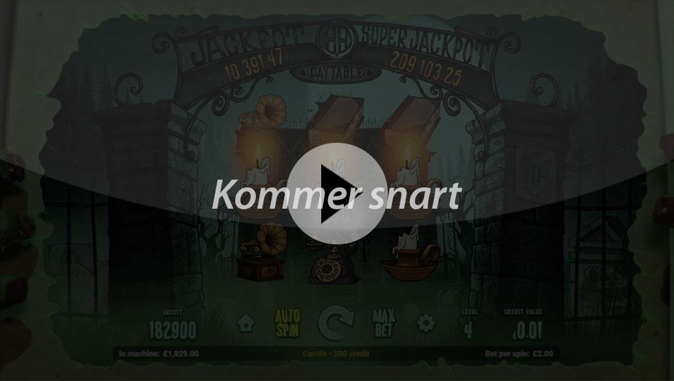 Haunted House spillemaskine - SS BG spil