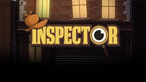 Her kan du spille Inspector spilleautomaten