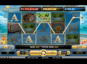 Mega Fortune Dreams slotmaskinen SS-04