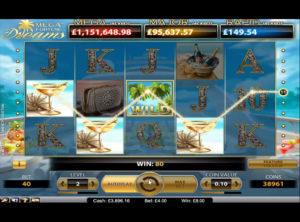 Mega Fortune Dreams slotmaskinen SS-09