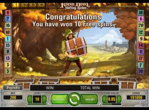Robin Hood Shifting Riches slotmaskinen SS-03