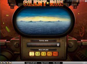 Silent Run slotmaskinen SS-09