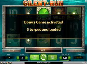 Silent Run slotmaskinen SS-10