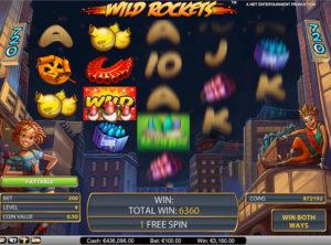 Wild Rockets slotmakinen SS-01