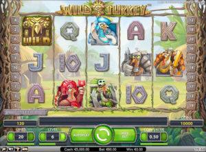 Wild Turkey slotmaskinen SS-01