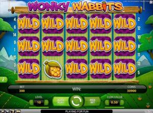 Wonky Wabbits slotmakinen SS-07