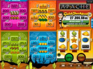 Apache spilleautomaten SS 2