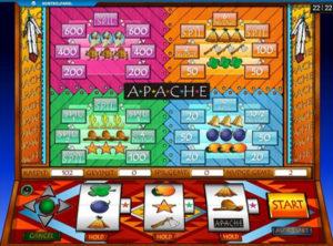 Apache spilleautomaten SS 3