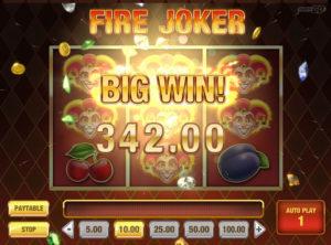 Fire Joker slotymaskinen SS-02