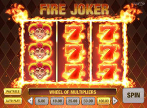 Fire Joker slotymaskinen SS-07
