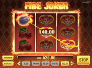 Fire Joker slotymaskinen SS-08